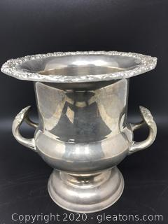 Silver Plated High End Trophy Urn