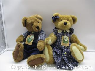 Boyds Bears Nelson and Courtney -Plush