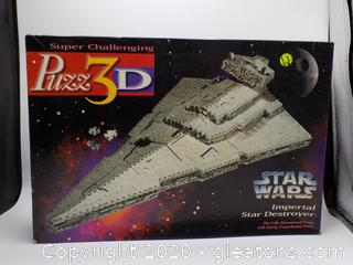 "StarWars Imperial Star Destroyer 823 ""Puzz3D"" Puzzle"