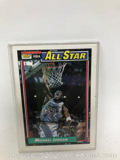 Michael Jordan Basketball Card All Star