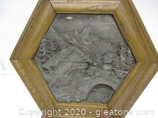 Zinn-Relief Handarbeit Picture