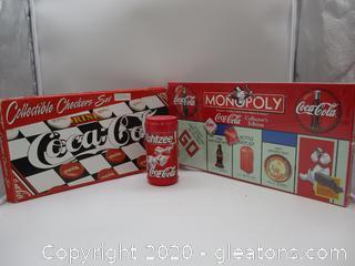 3 Coca-Cola Games