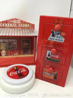 Coca-Cola Lot 3pc