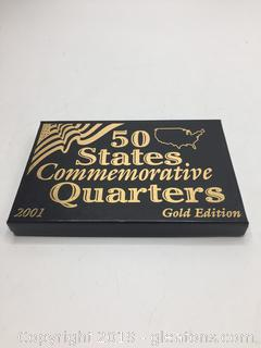 50 States Commemorative Quarters 2001 Edition