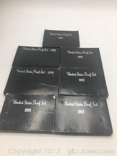 United States Mint Proof Sets Lot B
