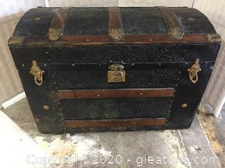 Antique 1800's Steamer Trunk