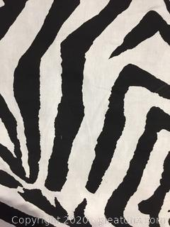 Zebra Fabric on Bolt