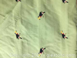 Waverly Toucan Fabric on Bolt