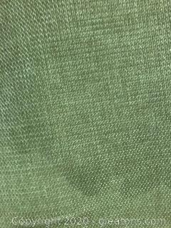 Green Fabric on Bolt