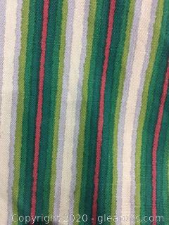Bolt of Striped Fabric from Robert Metzer Interiors