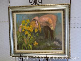 Original Signed Oil Painting by Movian D. Ragsdale