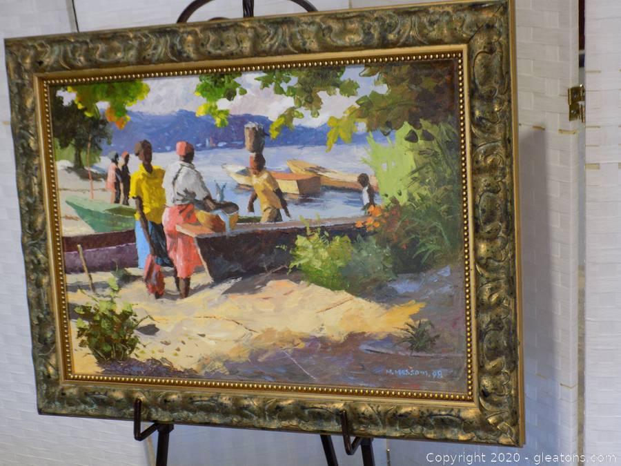 Gallery Fine Art Sale & Online Auction - Original Signed Works