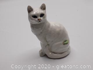 Vintage Beswick England Porcelain Cat