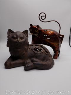 Outdoor/Indoor Decorative Cats