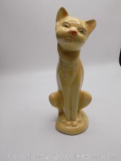Vintage Ceramic Cat by Fred Harvey