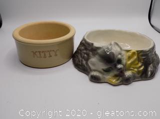 Ceramic Cat Bowls