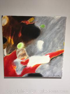 Original Contemporary Art Piece by Local Artist Donna Loeffler