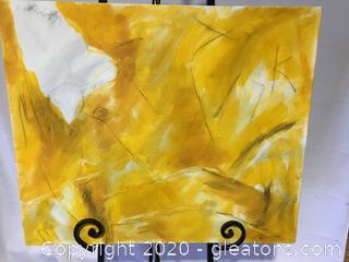 Original Contemporary Art Piece by Local Artist Donna Loeffler Lot B