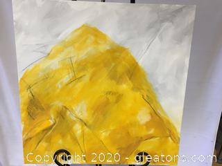Original Contemporary Art Piece by Local Artist Donna Loeffler Lot A