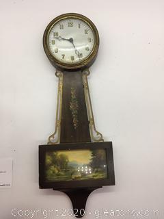 Gilbert 1807 8 Day Wall Clock