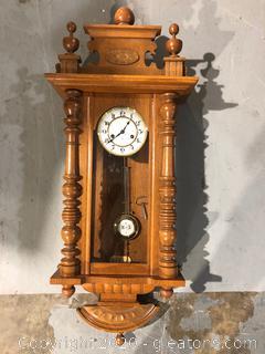 Vintage Wall Clock Market GB