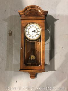 Howard Miller Wind-Up Pendulum Wall Clock