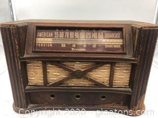 Vintage Firestone Air Chief Tube Radio