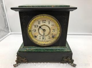 Working Antique Seth Thomas Mantel Clock