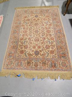 Karastan 100% Imported Wool Pile Rug