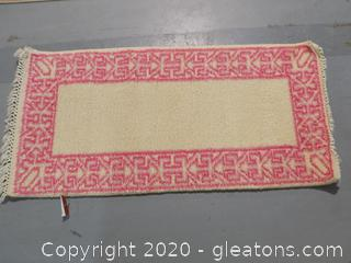Hand Knotted Woolen Carpet A