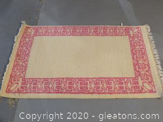 Hand Knotted Woolen Carpet B