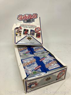 The Collectors 1991 Series Choice 3-D Team and Holograms Baseball Cards by Upper Deck