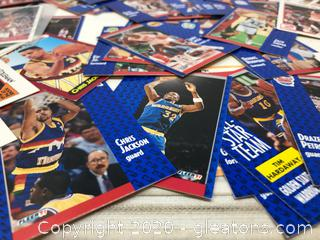 Lot of Basketball Cards by Fleer