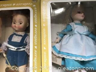 Two vintage Effenbee Dolls