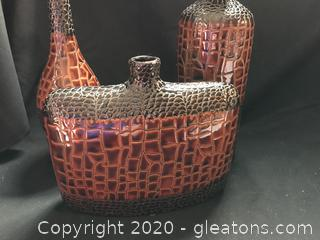 Very nice three vases
