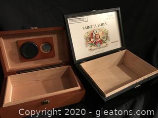 Cigar box and humidor