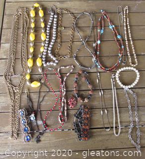 Bag Of Costume Jewelry # 1