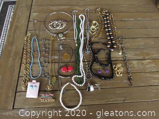 Bag of Costume Jewelry # 2