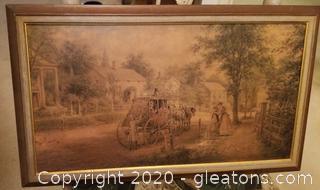 Stagecoach Print