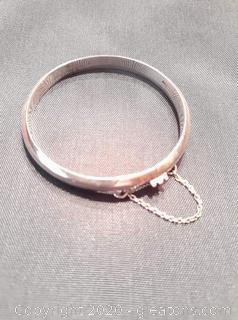 Sterling Child's Bracelet