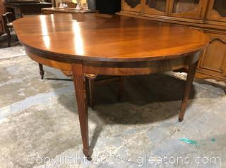 Antique Federal Style Dining Table