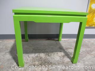 Green End Table or Children's Table
