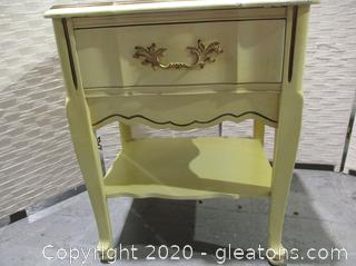 Bassett Furniture Sonte Series Nightstand with Drawer