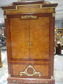 Very Elegant Biedermeier TV Armoire/Storage Cabinet