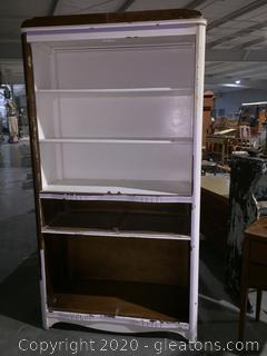 DIY Antique Book Case