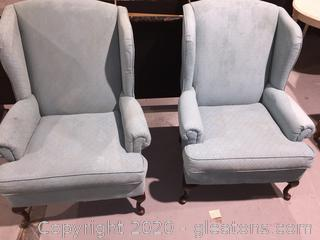Wing Back Chair- Pair