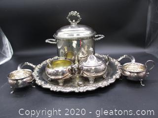 Silver Items – 6 pieces