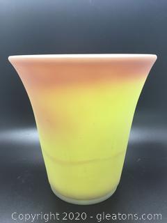 Beautiful Vase Made by Fenton