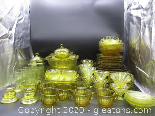Tiara Glass Collection Madrid Amber