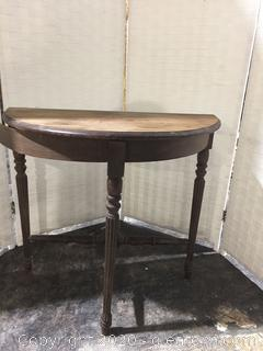 Half Moon table DIY